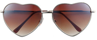 Heart shaped sunglasses from Nordstrom ($12.00)