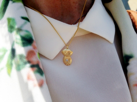 Jizo and Chibi jewelry starts ranges from $90 to $225.