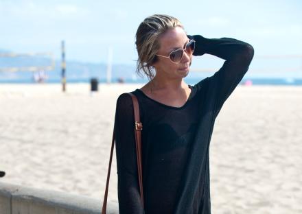 Melissa Diehl at Hermosa Beach