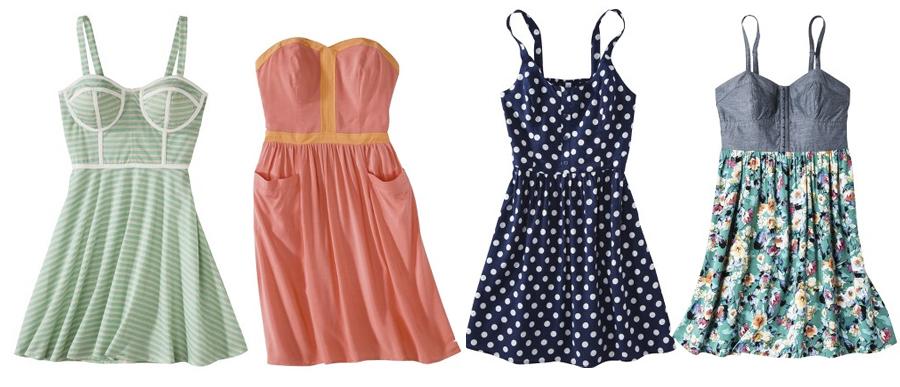 Target summer dresses ($21.99 - $29.99)