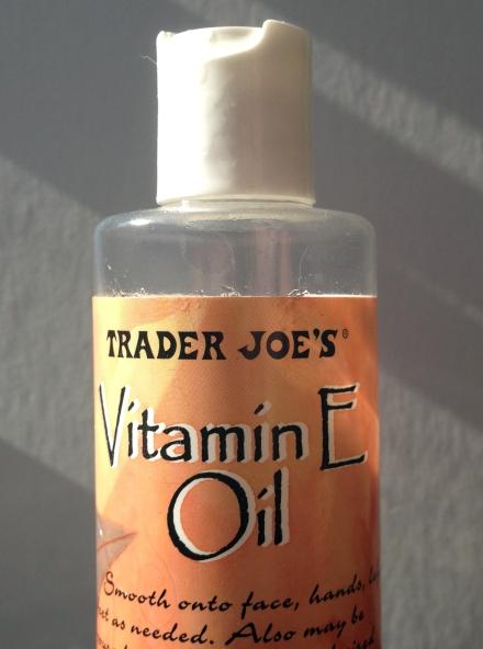 Trader Joe's Vitamin E Oil- Trader Joe Stores ($6.50)