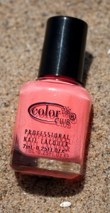 Reign in Spain- Wanderlust Colorclub Coral nail polish ($2)