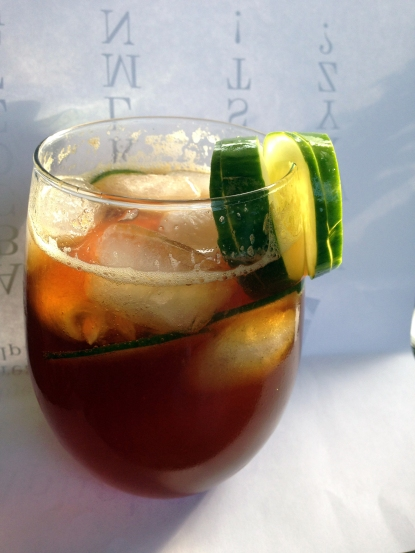 Pimm's Cup, the perfect summer drink!