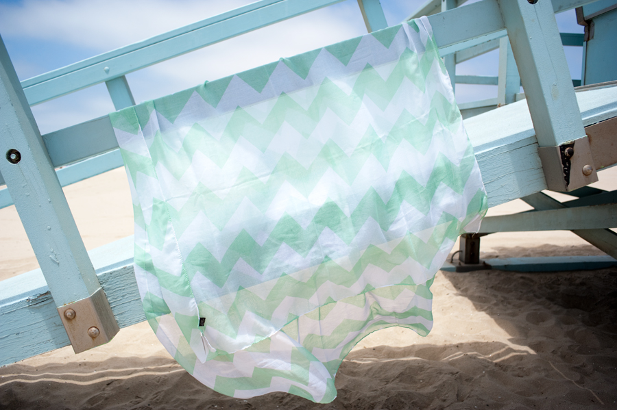 Francesca's Collection Mint Melrose Chevron Scarf ($9.99)
