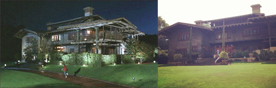Doc Brown's house from Back to the Future- 1908 Gamble House, 4 Westmoreland Place in Pasadena