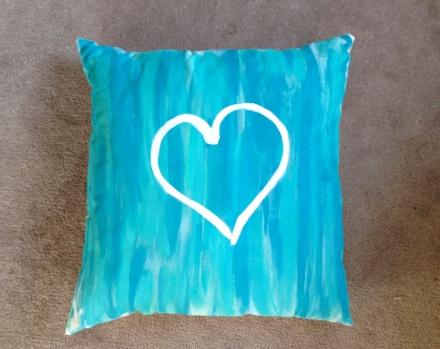 Pinterest pillow project