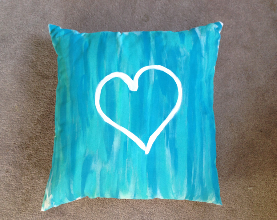 Pinterest pillow project
