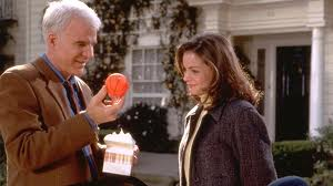 Additional movie still of Father of the Bride outside the Pasadena-area home