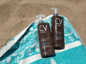 CV Skinlabs Rescue + Relief Spray and Body Repair Lotion