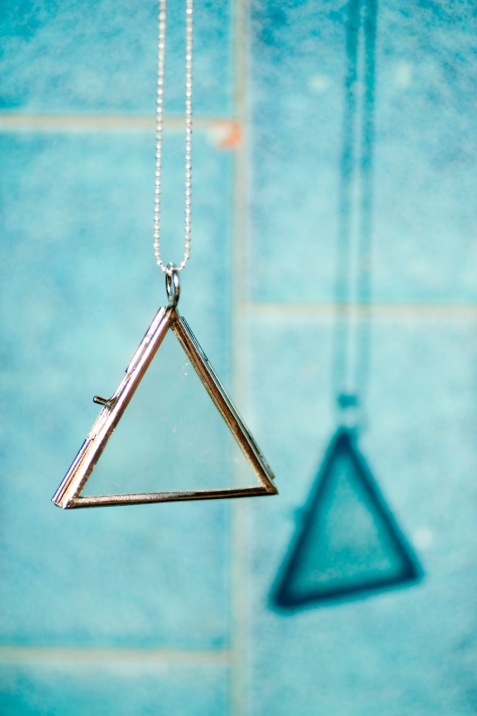 Ingredients for Lovely triangle locket