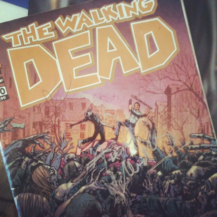 Walking Dead party at Comic Con 2012