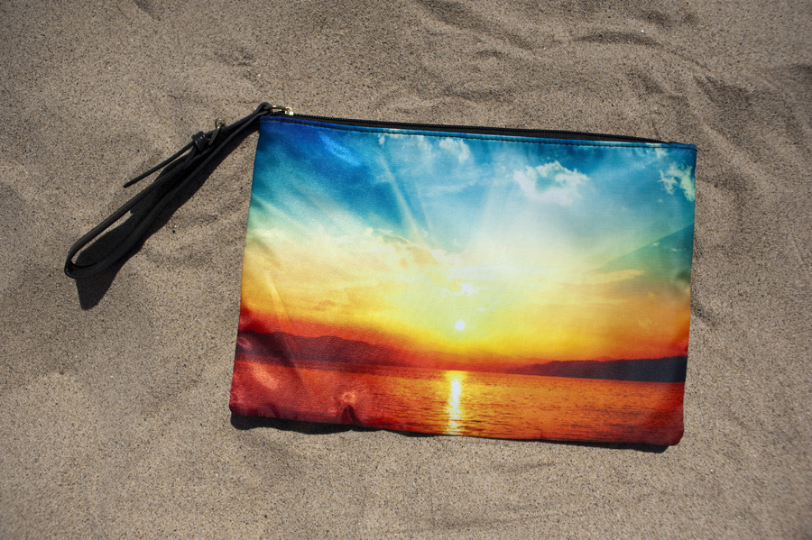 Sunset clutch from Target