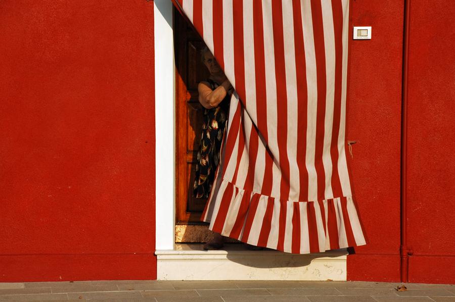 Burano woman- Venice, Italy