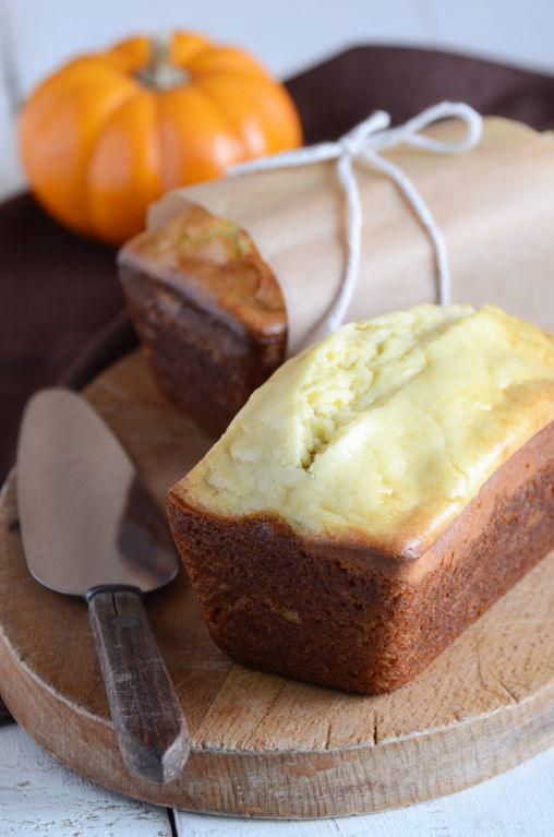 This pumpkin spiced cheesecake bread from http://www.anediblemosaic.com is genius!