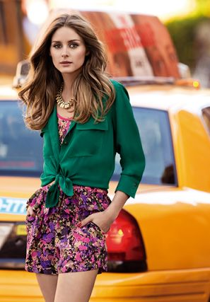Olivia Palermo- looking perfectly put together