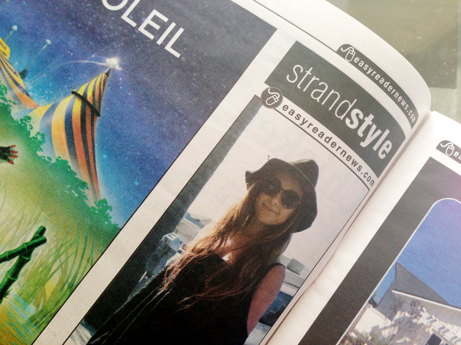 Strand Style in the Easy Reader Newspaper
