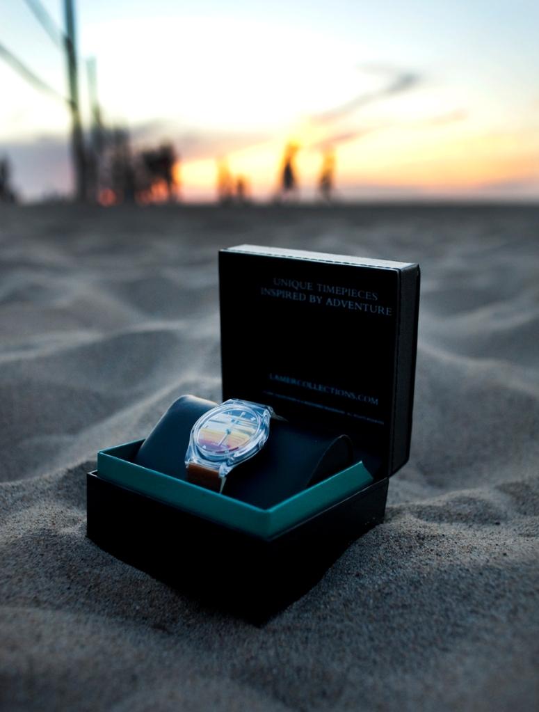La Mer sunset watch