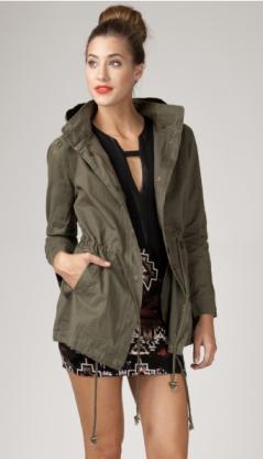 Military Parka Jacket ($49.99)