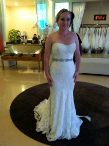 La Soie Casablanca Wedding Dress