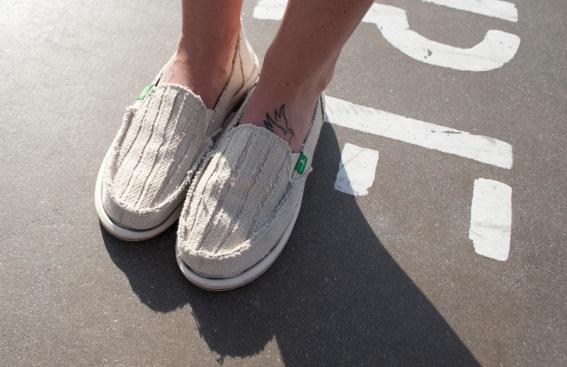 Sanuk Shoes ($55)