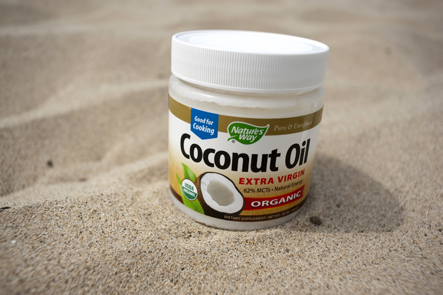 Coconut oil ($14) or buy a HUGE vat of it at Costco for under $20
