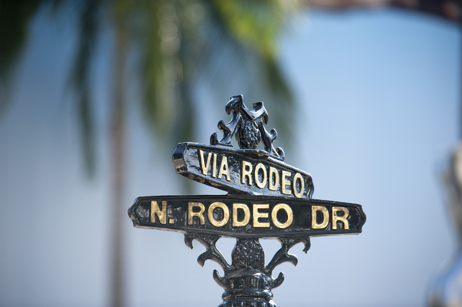 Rodeo Drive, California.