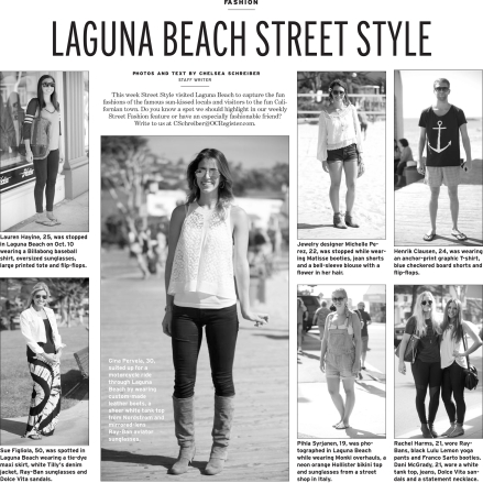 Laguna Beach Street Style - OC Register