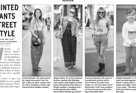Orange County Register, Street Style, OOTD