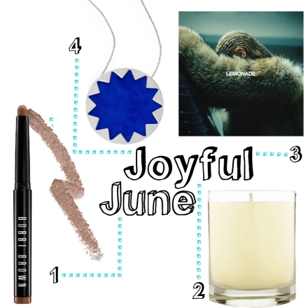 "1. Bobbi Brown Long-Wear Cream Shadow Stick ($29) 2. Aveda Shampure Soy Candle ($40) 3. ""Lemonade"" Beyonce Album ($17.99) 4. House of Harlow 1960 Sunburst Necklace ($29.99)"